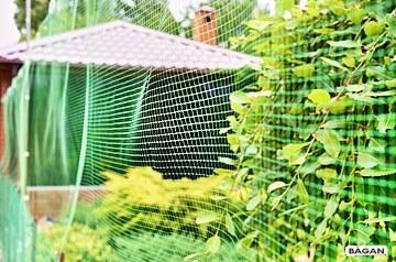 Ogrodzenie ogródka działkowego z warzywami