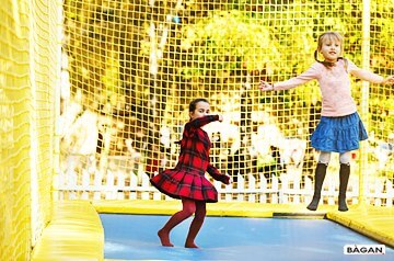 Siatki do trampoliny - siatka na trampoline, zabezpieczenie przed upadkiem