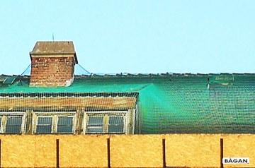 Siatki do zabezpieczenia starych dachów i starej dachówki