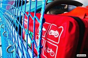 Zabezpieczenie ładunku- siatka do zabezpieczenia palet i towaru przewożonego w busie