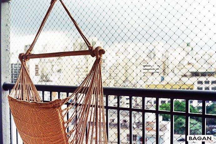 Siatka na balkon - zabezpieczenie balkonu