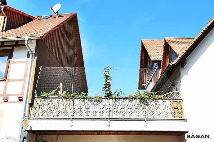 Siatka monyowana na balkonie i tarasie