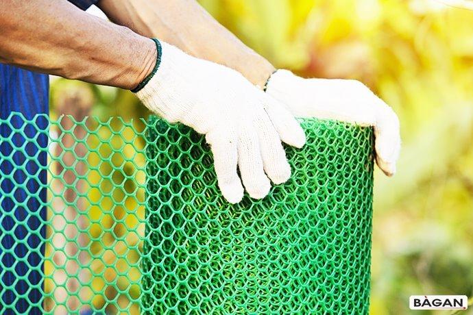 Do upraw warzyw w ogrodzie, siatka ogrodowa